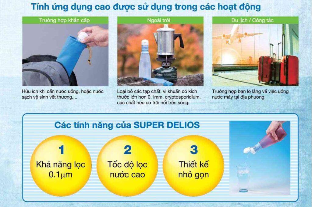 Thiết bị lọc nước sinh hoạt gia đình KITZ Super Delious