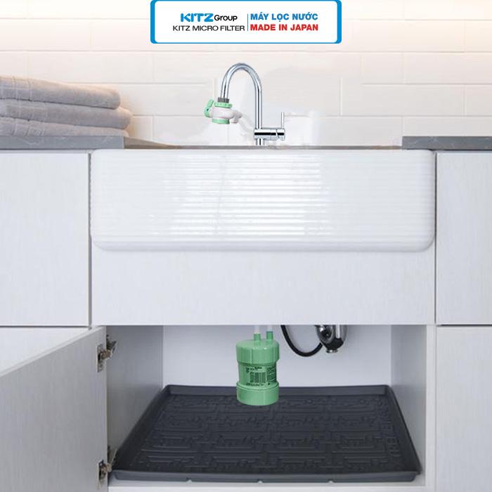 Hình ảnh lắp đặt máy lọc nước tại vòi 3