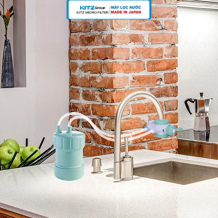 Hình ảnh lắp đặt máy lọc nước tại vòi 4