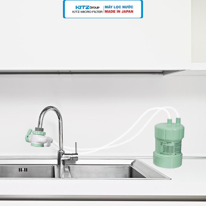 Hình ảnh lắp đặt máy lọc nước tại vòi 5
