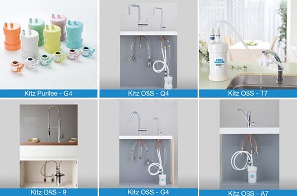 Nên chọn những thiết bị lọc nước gọn nhẹ không chiếm diện tích gia đình