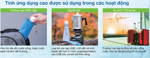 ứng dụng thiết bị lọc nước thông minh nhật bản
