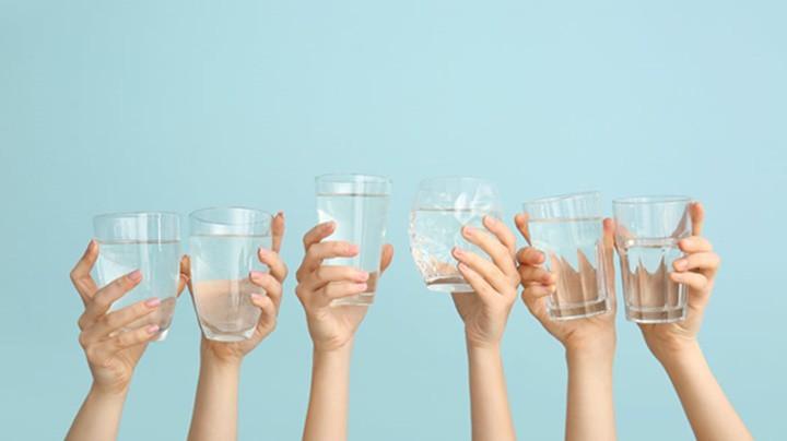 Nguồn nước từ thiết bị lọc nước gia đình